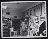 view Robert Motherwell in his Greenwich studio digital asset number 1