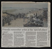 view Friends remember artist at his 'special place' digital asset number 1