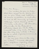 view Richard Diebenkorn, Urbana, Ill. letter to Erle Loran, Berkeley, Calif. digital asset number 1