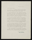 view Clement Greenberg, New York, N.Y. letter to Erle Loran, Berkeley, Calif. digital asset number 1