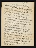 view Stuart Davis, New York, N.Y. letter to Erle Loran, Berkeley, Calif. digital asset number 1