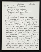 view Erle Loran, Berkeley, Calif. letter to John M. Martins, Washington, D.C. digital asset number 1