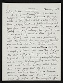 view Erle Loran, Berkeley, Calif. letter to Samuel Sabean, New York, N.Y. digital asset number 1