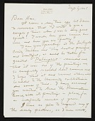 view Erle Loran, Berkeley, Calif. letter to Hans Hofmann, New York, N.Y. digital asset number 1