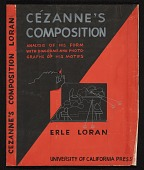 view Design for the book jacket <i>Cézanne's Composition</i> by Erle Loran digital asset number 1