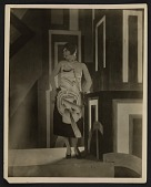 view Gilda Gray wearing a dress designed by Louis Lozowick for the Lord & Taylor centennial digital asset number 1