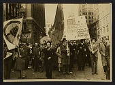 view Protest held by the John Reed Club and Artists' Union digital asset number 1