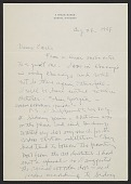 view Ivan Albright letter to Earle Ludgin digital asset: page 1