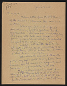 view Ivan Albright letter to Earle Ludgin digital asset number 1