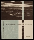 view <em>Metropolitan Los Angeles: One Community</em> book cover design digital asset number 1