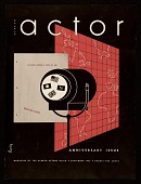 view <em>Screen Actor</em> magazine cover designed by Alvin Lustig digital asset number 1