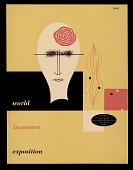 view <em>World Inventors Exposition</em> catalogue cover designed by Alvin Lustig digital asset number 1