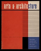 view <em>California Arts & Architecture</em> magazine cover design by Alvin Lustig digital asset number 1