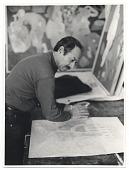 view Gregorio Prestopino sketching digital asset number 1