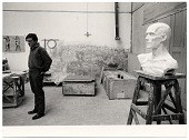 view Robert Winthrop White in his studio digital asset number 1