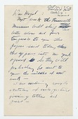 view Andrew Wyeth letter to Hazel Lewis digital asset: page 1