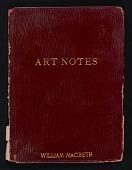 view Art Notes Nos. 13, 15-23 digital asset: Art Notes Nos. 13