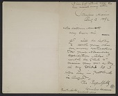 view Winslow Homer, Scarborough, ME letter to William Macbeth, New York, N.Y. digital asset number 1
