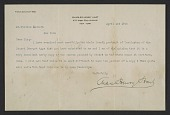 view Charles Henry Hart, New York, N.Y. letter to William Macbeth, New York, N.Y. digital asset number 1