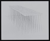view Photograph of ink on paper drawing entitled Brick Path digital asset number 1