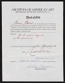 view Archives of American Art digital asset: Archives of American Art