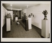 view Installation view of a Gaston Lachaise exhibition of sculpture and drawings at the Margaret Brown Gallery digital asset number 1