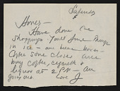 view Personal Papers-Correspondence digital asset: Personal Papers-Correspondence