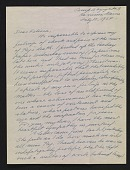 view Peggy Bacon letter to Felicia Meyer Marsh digital asset number 1