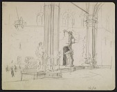 view Sketch of the Uffizzi Gallery digital asset number 1