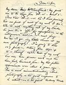 view Alfred Stieglitz letter to Elizabeth McCausland digital asset: page 1