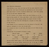 view Arthur Garfield Dove, Geneva, N.Y. letter to Elizabeth McCausland, New York, N.Y. digital asset number 1