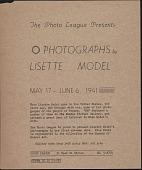 view Photography digital asset: Photography: circa 1933-1950