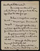 view Georgia O'Keeffe letter to Elizabeth McCausland digital asset number 1