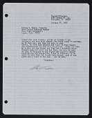 view Mary Fuller McChesney letter to Steven W. Rosen digital asset number 1