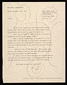 view Gio Ponti letter to Esther McCoy digital asset number 1