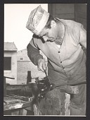view Employee at work at the Etruscan Glass Co. digital asset number 1