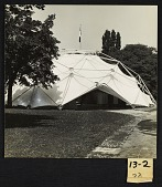 view Buckminster Fuller's geodesic dome at the Milan Triennale digital asset number 1