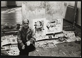 view Photographs of artists by Fred McDarrah, 1963-1976 digital asset number 1
