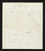 view Jervis McEntee letter to Mary McEntee Vaux digital asset number 1