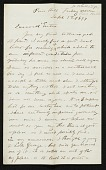 view Worthington Whittredge letter to Jervis McEntee digital asset number 1