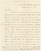 view Mrs. J. R. Donoho to Jervis McEntee digital asset: page 1