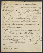 view Mary K. McGuigan and John F. McGuigan Jr. artists' letters collection, 1794-1938 digital asset number 1
