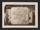 view A cartoon of <em>Air</em> for the National Academy of Sciences mural. digital asset number 1