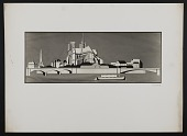 view Photograph of work depicting Notre Dame by Hildreth Meiere digital asset number 1