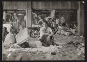 view A woman and sleeping child at Coney Island digital asset number 1