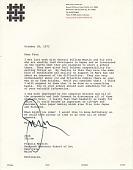 view Jack Lenor Larsen letter to Francis Sumner Merritt digital asset number 1