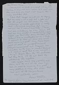 view Agnes Martin, Albuquerque, New Mexico letter to Thomas Messer, New York, New York digital asset number 1