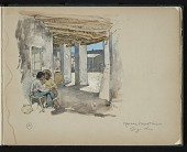 view Willard Leroy Metcalf sketchbooks, 1879-1882 digital asset number 1