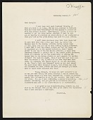 view Dorothy Miller letter to Georgia O'Keeffe digital asset number 1