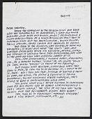 view Ad Reinhardt letter to Dorothy Miller digital asset number 1